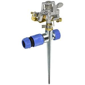 セフティー3 メタルスプリンクラー広範囲 回転タイプ 散水目安20m SSP-8 sazanamisp