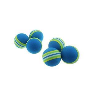 ごるふぼーる CRESTGOLF ゴルフボール ゴルフ 練習ボール ウレタンボール 50個セット カラフル ブルー sazanamisp