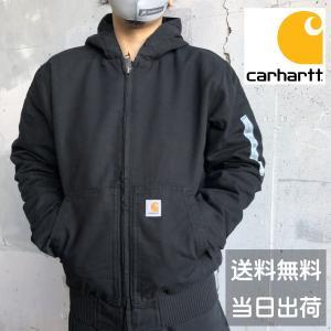 カーハート キルティングライナー ダックコットン アクティブジャケット ジャケット Carhartt J130 ブルゾン アウター メンズ|sb02