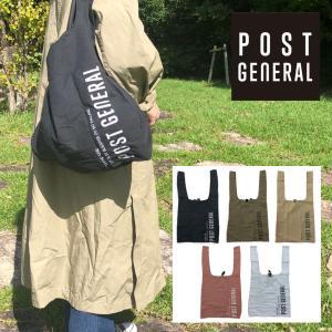 ポストジェネラル ショッパーバッグ エコバッグ Creer POST GENERAL 折りたたみバッグ シュルダーバッグトートバッグ|sb02