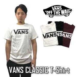 VANS Tシャツ 半袖 バンズ メンズ ヴァンズ CLASSIC VN000GGGY ブラック ホワイト|sb02