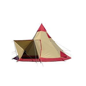 (キャンパルジャパン) CAMPAL JAPAN テント ピルツ 15-2 2794 レッド×サンド...