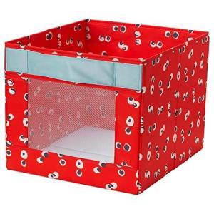IKEA/イケア ANGELAGEN:ボックス38x42x33 cm レッド (304.179.45...
