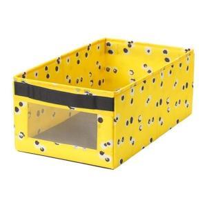 IKEA/イケア ANGELAGEN:ボックス25x44x17 cm イエロー (404.179.3...