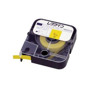 マックス レタツイン テープカセット LM-TP305Y 黄