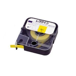 マックス レタツイン テープカセット LM-TP309Y 黄