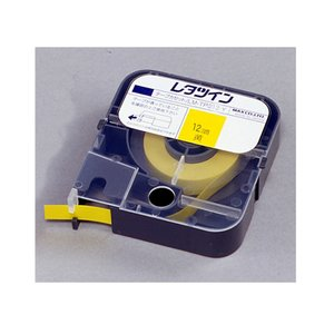マックス レタツイン テープカセット LM-TP312Y 黄