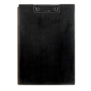 キングジム レザフェスクッリップボード「1932LF」ブラック カバー付き|sbd