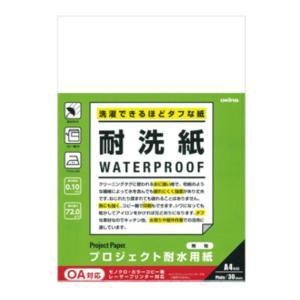 オキナ プロジェクト耐水用紙「PW3045」耐洗紙 無地 A4 30枚入|sbd