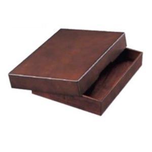 クラウン 木製決済箱「CR-TR1-DBR」A4用|sbd