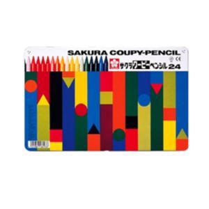 サクラ クーピーペンシル「FY24」24色セット
