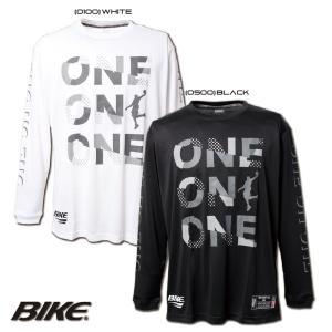 送料無料 BIKE バイク バスケットボール 長袖 ロング プラクティス シャツ BK5951 sblendstore