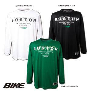 送料無料 BIKE バイク バスケットボール メンズ 長袖 ロング プラクティス シャツ BK5956|sblendstore