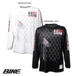 送料無料 BIKE バイク バスケットボール メンズ 長袖 ロング プラクティス シャツ BK5963 sblendstore