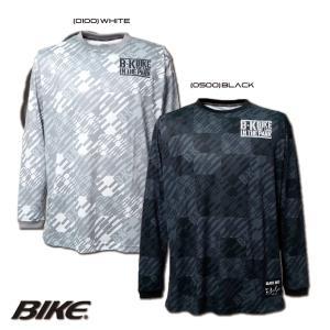 送料無料 BIKE バイク バスケットボール メンズ 長袖 ロング グラフィック プラクティスシャツ BK5967 sblendstore