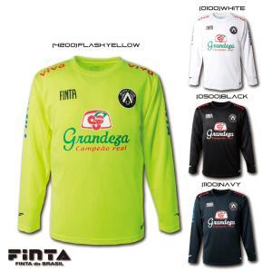 送料無料 FINTA フィンタ サッカー フットサル GDZ L/S 長袖 プラクティスシャツ FT8605|sblendstore