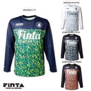 送料無料 FINTA フィンタ サッカー フットサル RIO L/S 長袖 プラクティスシャツ FT8609 sblendstore