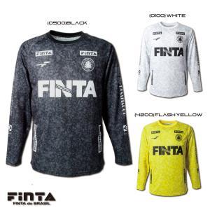 送料無料 FINTA フィンタ サッカー フットサル FDB 昇華 L/S プラクティスシャツ FT8610 sblendstore