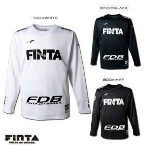 送料無料  FINTA フィンタ サッカー フットサル CAMPO L/S 長袖 プラクティスシャツ FT8618|sblendstore
