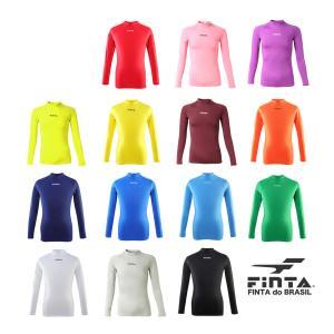 フィンタ FINTA サッカー フットサル ハイネックインナーシャツ FTW7027|sblendstore