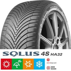 ソルウス 4S HA32 155/65R14 75T クムホ オールシーズンタイヤ [107]