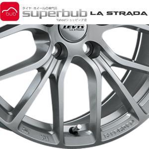 アルミホイール 表示価格は1本分 新品 正規品  LA STRADA LEVIS リム径:17インチ...