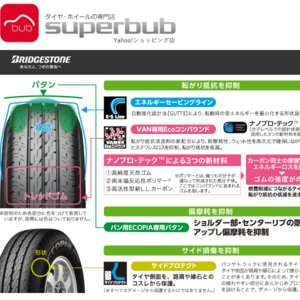 12インチ ブリヂストン 145R12 8PR エコピア R680 サマー タイヤ 4本取付費込 太田店取付限定