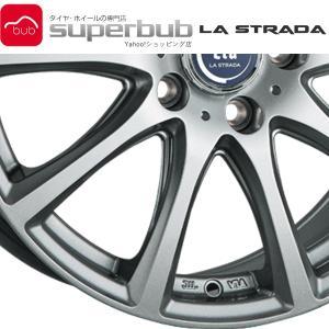 アルミホイール 表示価格は1本分 新品 正規品  LA STRADA TIRADO ETA リム径:...