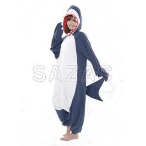 着ぐるみ 大人用 サメ着ぐるみ フリース SAZAC(サザック)|sca-rlet