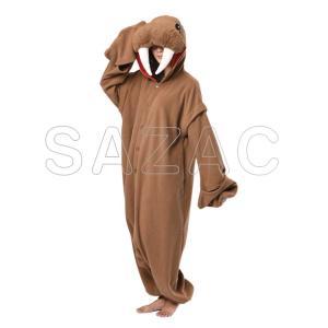 着ぐるみ 大人用 セイウチ着ぐるみ フリース SAZAC(サザック)|sca-rlet