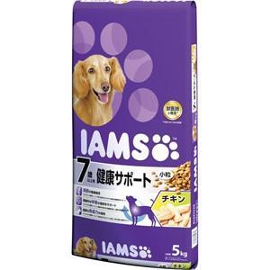 【J】 マース アイムス 7歳以上用 健康サポート チキン味 小粒 (5kg) ドッグフード ドライフード|scbmitsuokun1972