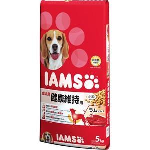 【J】 マース アイムス 成犬用 健康維持用 ラム&ライス 小粒 (5kg) ドッグフード ドライフード|scbmitsuokun1972