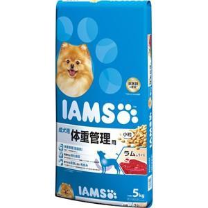 【J】 マース アイムス 成犬用 体重管理用 ラム&ライス 小粒 (5kg) ドッグフード ドライフード|scbmitsuokun1972