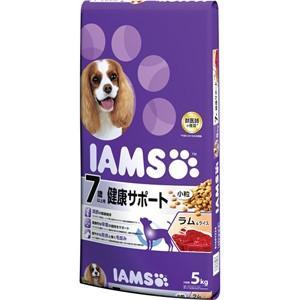 【J】 マース アイムス 7歳以上用 健康サポート ラム&ライス 小粒 (5kg) ドッグフード ドライフード|scbmitsuokun1972