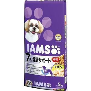 【J】 マース アイムス 7歳以上用 健康サポート チキン味 中粒 (5kg) ドッグフード ドライフード|scbmitsuokun1972