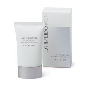 【※】SHISEIDO MEN (資生堂 メン) UVプロテクター (50g) 化粧品 男性用 日やけ止め用美容液 SPF30・PA++
