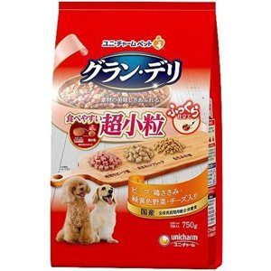 グラン・デリ ふっくら仕立て 食べやすい超小粒 (750g) ドッグフード ドライ|scbmitsuokun1972