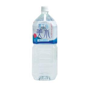 【6本セット】【1本当たり97円】ナチュラルミネラルウォーター 富士山美水 2Lペットボトル 弱アルカリ性天然水 地下深層水 バナジウム5.0μg
