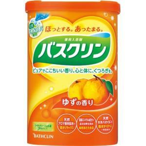 バスクリン ゆずの香り(600g) 薬用入浴剤