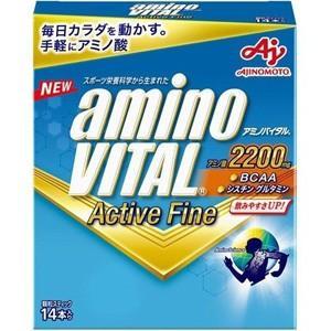 アミノバイタル アクティブファイン (14本入) アミノ酸とビタミンが飲みやすく摂取