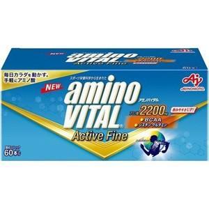 アミノバイタル アクティブファイン (60本入) アミノ酸とビタミンが飲みやすく摂取
