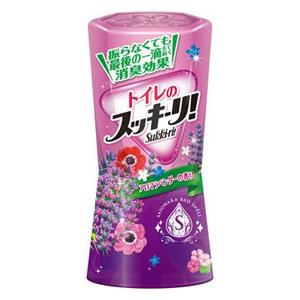【訳あり 特価】 アース製薬 トイレのスッキーリ! アロマラベンダーの香り (400ml) 消臭芳香剤 scbmitsuokun1972