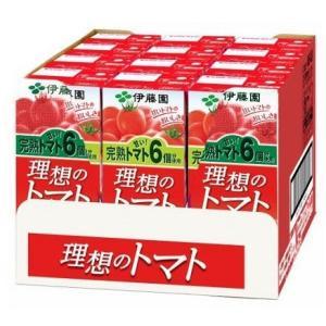 伊藤園 理想のトマト (200ml紙パック×12本) トマトジュース scbmitsuokun1972