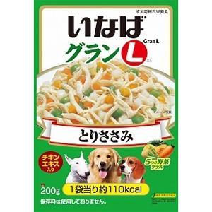 【訳あり 特価 定番棚替えの為】 いなば グランL とりささみ 5つの野菜プラス (200g) 成犬用 ウェットフード|scbmitsuokun1972