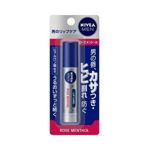 【T】ニベアフォーメン リップケア ローズメントール(1本入)