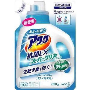 【※ zr】 アタック 抗菌EX スーパークリアジェル つめかえ用(810g)【アタック】 scbmitsuokun1972