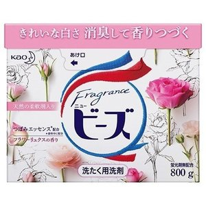 【T】 花王 フレグランス ニュービーズ 粉末 (800g) 天然の柔軟剤入り 洗濯用洗剤|scbmitsuokun1972