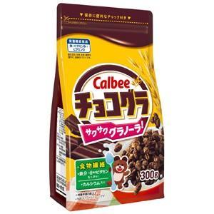 【訳あり 特価】 賞味期限:2021年2月22日 カルビー チョコグラ (300g) 菓子 scbmitsuokun1972
