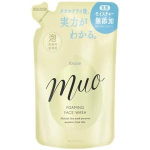 【T】 クラシエ muo(ミュオ) 泡の洗顔料 ポンプ つめかえ用 (180ml) 洗った後までうるおいが続く、保湿・無添加の洗顔料|scbmitsuokun1972