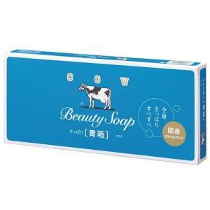 【zr ME】 牛乳石鹸 化粧石鹸カウブランド青箱85g 6個入り   石けん せっけん scbmitsuokun1972